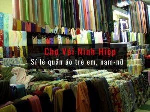 Chợ vải Ninh Hiệp - Sỉ lẻ quần áo trẻ em, nam nữ
