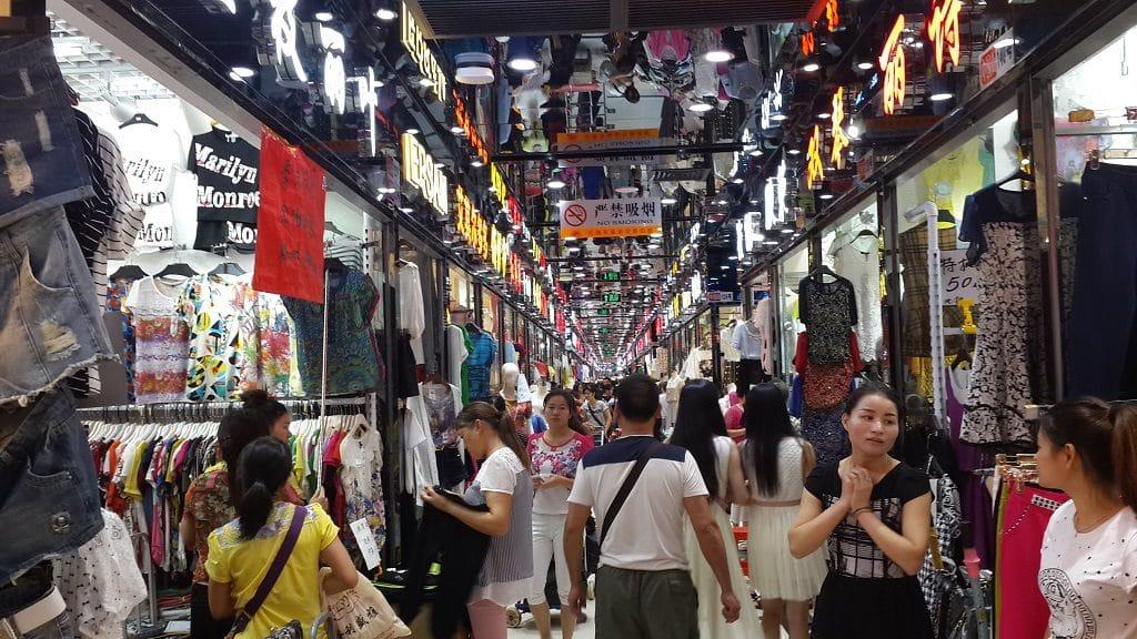 link xưởng bán sỉ quần jean nữ tại các chợ quảng châu