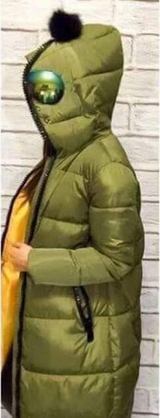 áo phao người ngoài hành tinh chụp nghiêng