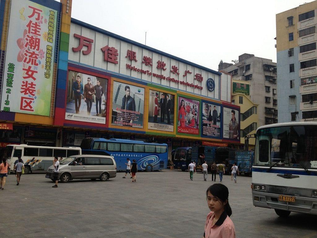 chợ Sha He - Xa hớ chợ bán buôn quần jean nam lớn nhất tại quảng châu