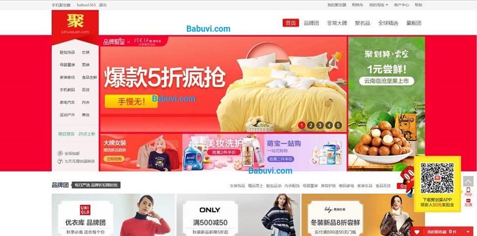 juhuasuan.com trang sale off taobao tmall