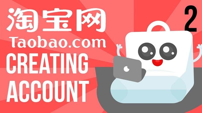 đăng ký tài khoản taobao